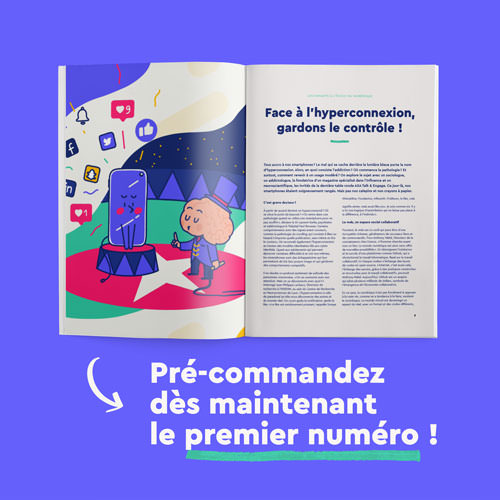Du magazine en ligne au magazine papier