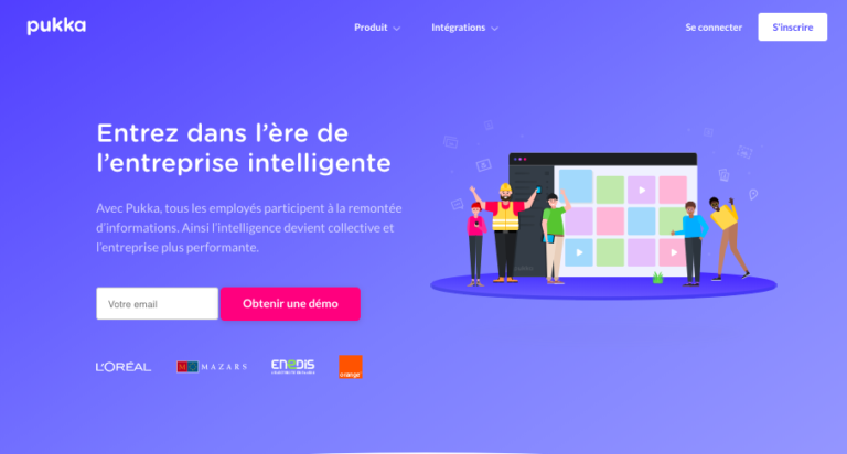 Pukka Entreprise Collaborateurs